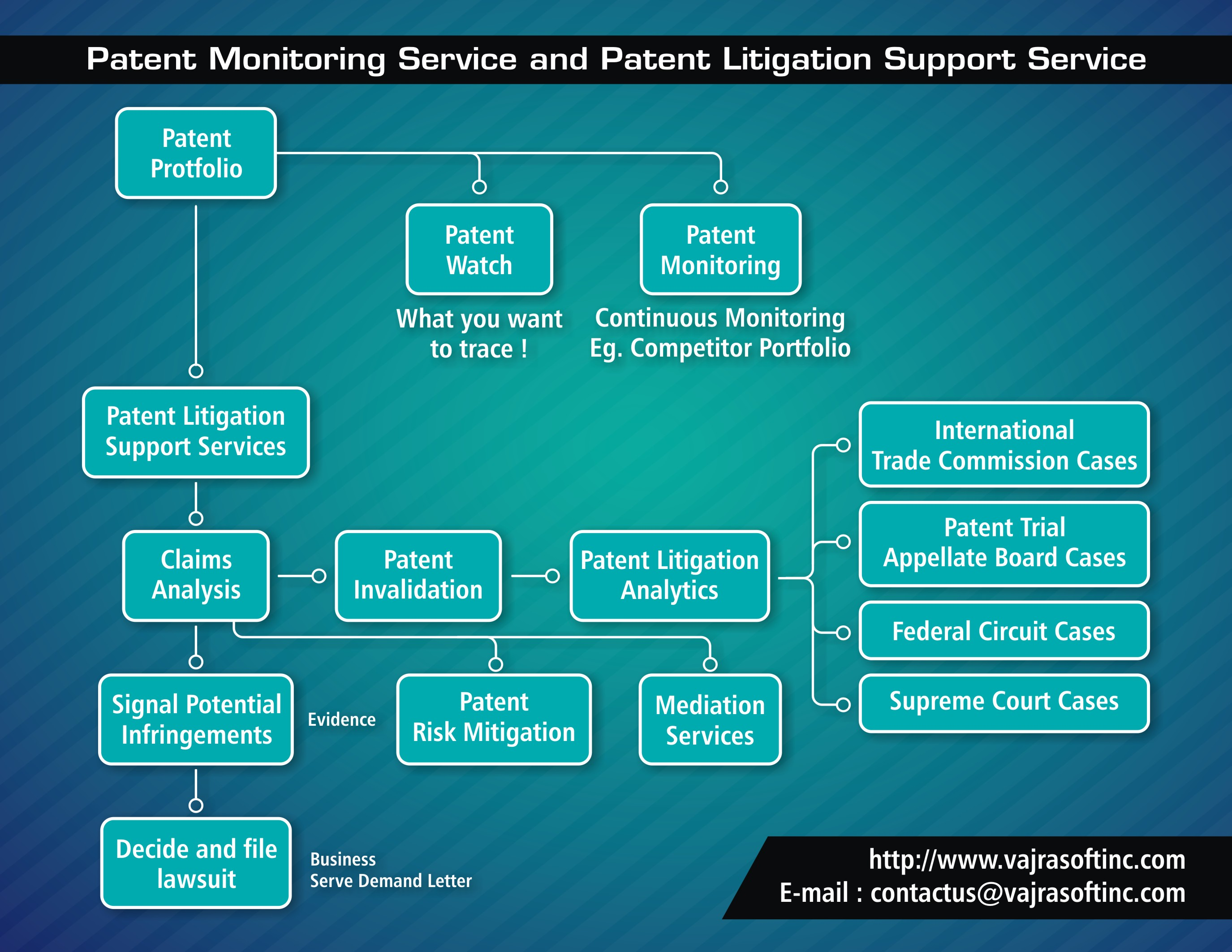 Patent Monitoring and Patent Litigation Support Services